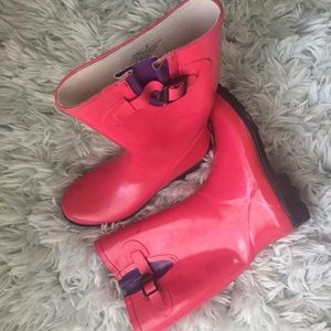 Women's Rain Boots in Perfect Pink
